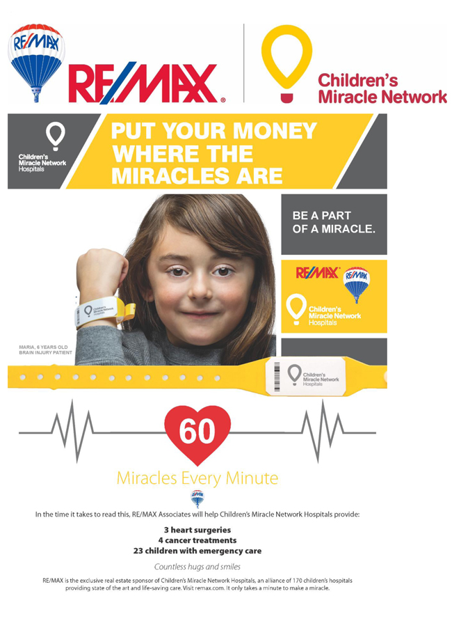 Giving Back -Children Miracle Network-1
